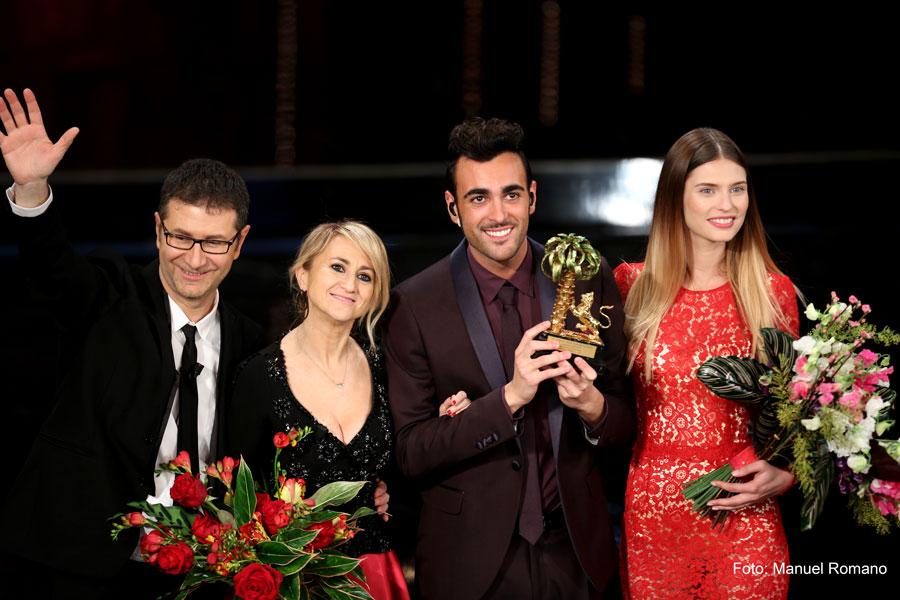 Sanremo 2013: Mengoni vince Sanremo 2013. Foto: Manuel Romano