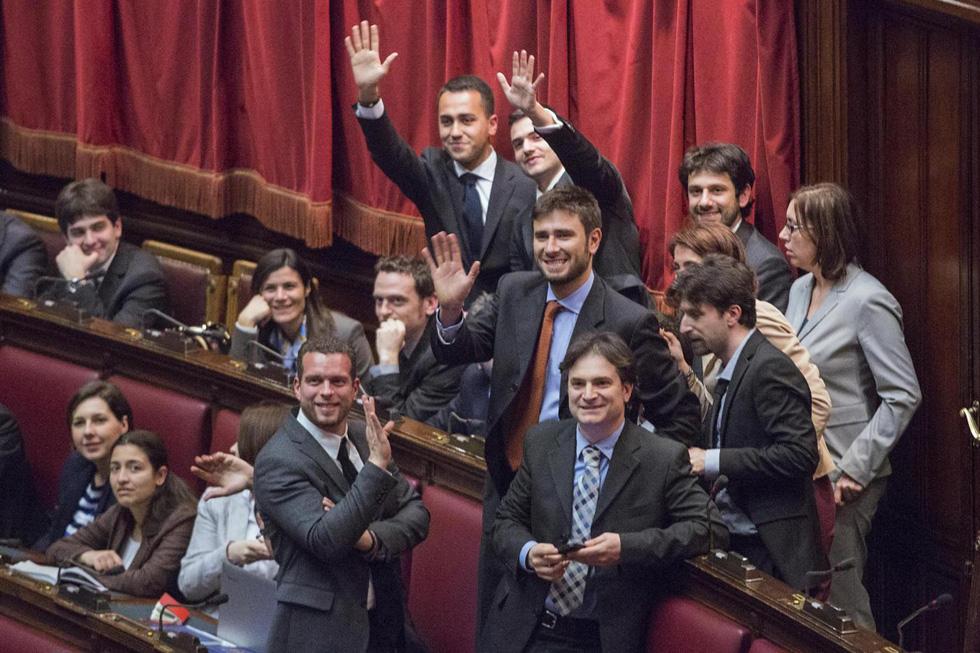 Movimento 5 stelle apre a pd su unioni civili l 39 impronta for Movimento 5 stelle parlamento oggi