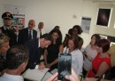 Italian PM Matteo Renzi in L'Aquila