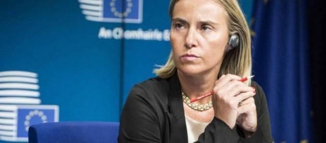"Siria. Mogherini(Ue): ""Necessaria un'alleanza globale anti-Isis"""