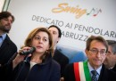 Inauguration of Swing train in L'Aquila