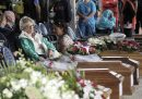 Italy 30 August 2016, Funerals for the earthquake victims in Central Italy