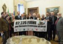 Senato. Grasso riceve delegazione 'People4Soil'