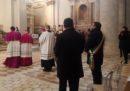 Sindaco Biondi in Basilica Collemaggio