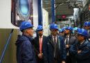 INFN: Tria visita i Laboratori del Gran Sasso