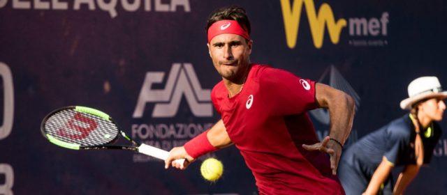 Internazionali di Tennis Città dell'Aquila: Ficovich elimina Moroni