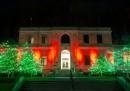 Illumination festival in Niagara Falls