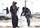 Neve in Arabia Saudita
