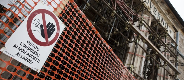 Terremoto. Cantieri ricostruzione, anche a L'Aquila Protocollo Legalità