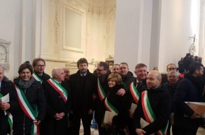 L'Aquila: cerimonia solenne per riapertura Basilica Collemaggio